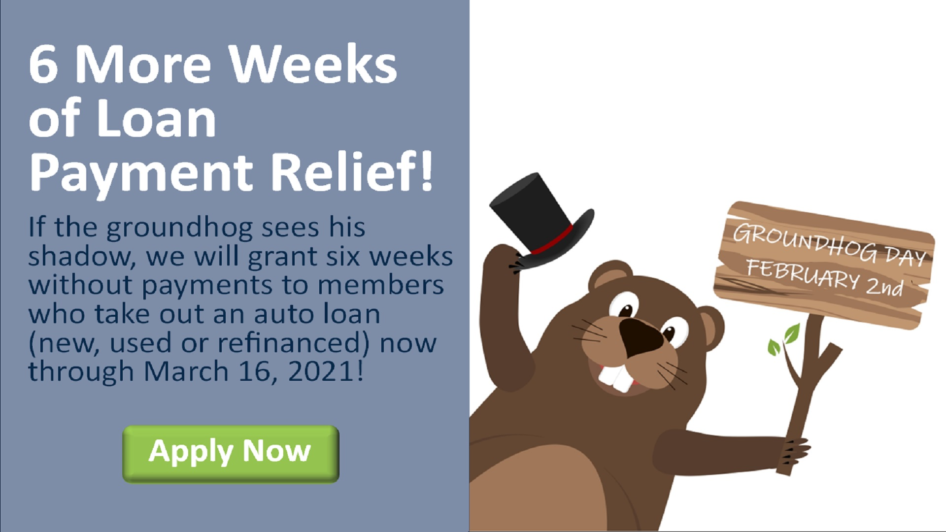 6 More Weeks of Loan Payment Relief